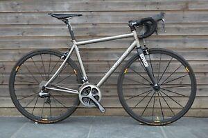 Lynskey R230 Dura Ace Di2 Titanium Bike Medium Enve Carbon Fork MavicKsyrium SLR