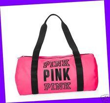 Victoria's Secret PINK Gym Bag Duffle Purse Tote Handbag Shopper PINK COLOR Cute