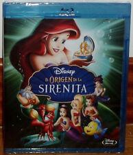 EL ORIGEN DE LA SIRENITA 3 DISNEY BLU-RAY NUEVO PRECINTADO ANIMACION (SIN ABRIR)