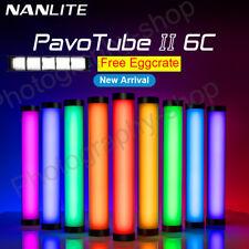 Nanlite PavoTube II 6C CRI Hot shoe hand held 2700-7500K photography LED light