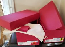 Two Valentino Empty Shoe Boxes, 3 Envelops with 4 Spare Pins, Card & Soft Bag
