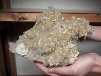 Muscovite and Quartz Crystals, Minas Gerais, Brazil