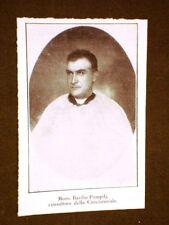 Cardinale nel 1911 Basilio Pompili o Pompilj