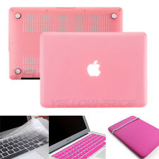 "Hard Rubberized Case + Keyboard Cover for MacBook Retina 12"" inch A1534 New 2015"