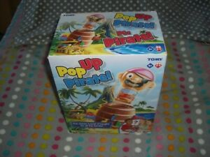 Pop Up Pirate! Boxed Game by Tomy 2019, never opened, excellent condition