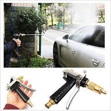 Bronze High Pressure Water Gun Car Wash Spray Brass Hose Nozzle Sprayer Car Lawn