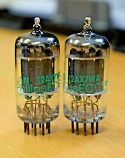 Matched Pair Philips ECG USA JAN 12AX7WA ECC83 Valves/Tubes New Old Stock (V22)