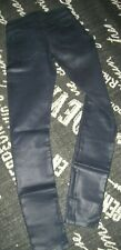 $178 NEW Womens Sz 25 Navy Blue JUICY COUTURE Coated STRETCH SKINNY JEANS