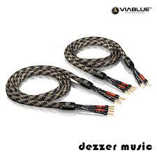 ViaBlue 2x 3,00m SC-4 Bi-Wire Crimped HIGH END Lautsprecherkabel Ader /3 3,0/TOP