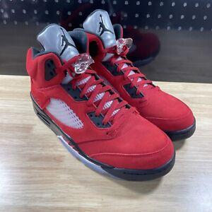 NEW Nike Air Jordan 5 Retro Mens Sz 13 Raging Bull Red (2021) DD0587-600