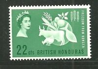 Belize 523 Sg592 Mh 1980 $1 Queen Mother 80th Birthday Cat$6 Belize (1973-now)
