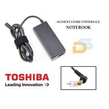ALIMENTATORE UNIVERSALE NETBOOK 30W TOSHIBA 30 WATT 19V 1.58A 5.5x2.5 MM