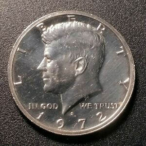 1972 P Kennedy Half Dollar Unc Coin 5812 Clad Fill Your Coin Book