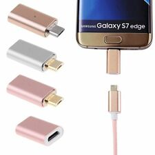 Cavo del caricatore magnetico Breve Converter Adapter Micro USB per Samsung LG