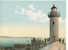 Cannes. Le phare. PZ vintage photochromie photochromie, vintage photochrome
