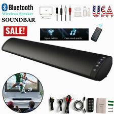 2.0 Channel TV Home Theater 20W Soundbar Bluetooth 5.0 Sound Bar Speaker Remote