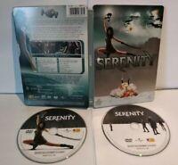 SERENITY Steelbook - 2 DVD - PAL Zone 2 - Très bon état