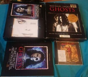 Michael Jackson Official limited edition Ghosts Boxset