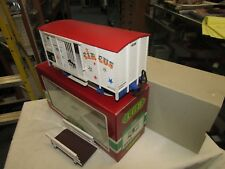 LGB 4036 CIRCUS STOCK CAR G SCALE MADE IN GERMANY PRE OWNED, ORIG. BOX  ,RAMP