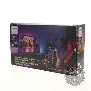NEW Philips Hue 7821030U7 Play Starter Kit in Black - 530 Lumen / 110V