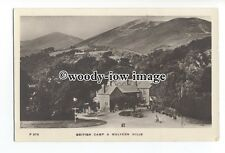 tq1186 - Early British Camp (Iron Age Fort) and Hotel, in Malvern - postcard