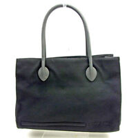 miumiu Tote bag Black Woman Authentic Used Y6250