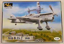 AZ Models 1/48 Avia B 35 2 Czech Luftwaffe AF Fighter 1940 4802