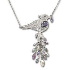 Ultra-Rare A+ Pre-Owned Swarovski Crystal 1106507 Philippa Bird Pendant Necklace