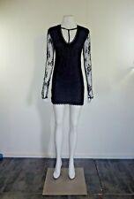 One Teaspoon black lace  dress size 10