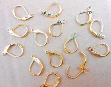 50PCS Jewelry Findings Gold Plated Hoop Circle Hook Earring DIY Made Beads