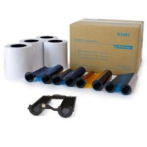 """HiTi P510 Series Printers 4x6"""" Print Kit, 4 rolls per box, 330 prints per roll"""