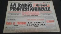 Journal Monthly La Radio Professional N° 193 Mars 1951 ABE