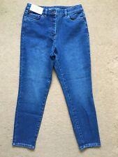 "NEXT Women's Mom Stretch Super High Waist Jeans Blue, UK10L, approx W29"", L27"""