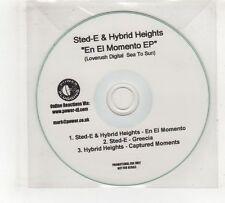 (GV474) Sted-E & Hybrid Heights, En El Momento - DJ CD
