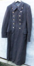 Genuine Soviet Army Winter Uniform Woolen Long Overcoat Greatcoat Trenchcoat