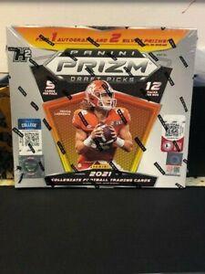 2021 Panini Prizm Draft Picks Football H2 Hybrid Hobby Box Sealed