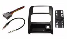 Car Stereo Radio Double DIN Dash Kit Harness Antenna for 2002-2007 Jeep Liberty
