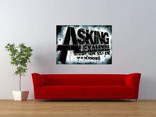 Chiedendo ALEXANDRIA metalcore Music Group GIGANTE art print poster pannello nor0121