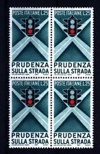 ITALIA REP. - 1957 - Propaganda per la campagna di educazione stradale - 25 L.