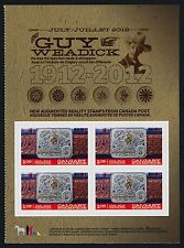 Canada 2548a Booklet Right pane MNH Calgary Stampede, Horse, Belt Buckle