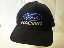 Ford Racing No Fear Navy Blue Hat Cap White Emboridery