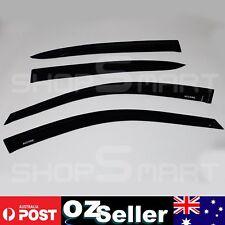 Smoke Weather Shield Wind Deflector Rain Sun Guard For Honda Accord 2008-2012