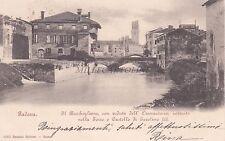PADOVA - Il Bacchiglione, con Veduta dell'Osservatorio, nella Torre 1901