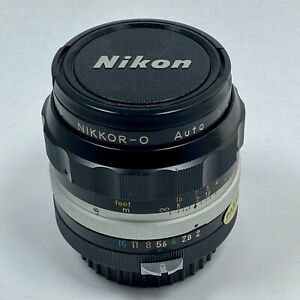 Nikon NIKKOR-O AUTO 35mm f/2 Non-Ai MF Wide-Angel Lens