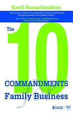 The 10 Commandments for Family Business by Kavil Ramachandran (English) Hardcove