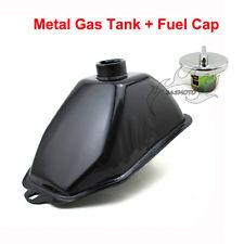 ATV Metal Fuel Gas Tank W/Cap For Chinese 50cc 70cc 90cc 110cc 125cc Kids Quad