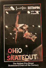 OHIO SKATEOUT - 80'S OLD SCHOOL SKATEBOARD DIGITALLY TRANSFERRED TO DVD