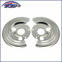 Brand New Pair Of Dust Shields Backing Plates For 1964 - 1972 Charger Challenger