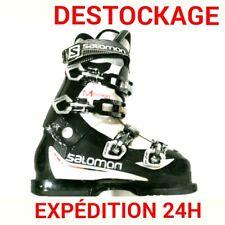 """chaussure de ski adulte occasion SALOMON """"MISSION"""" tailles:40/41/42 PETIT BUDGET"""