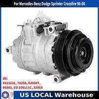 AC Compressor Clutch For Mercedes-Benz Dodge Sprinter Crossfire Reman 77356